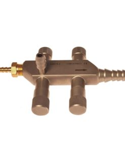 Suction irrigation handle