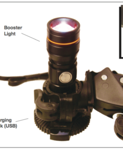 Booster light attaches to any standard light handle or IV stand.